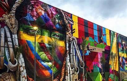 Kobra Graffiti Eduardo Ethnic Rio Janeiro Street