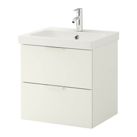Ikea Sink Cabinet With 2 Drawers by Godmorgon Odensvik Sink Cabinet With 2 Drawers White