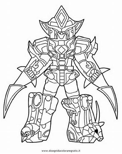 Power Rangers Pages Coloring Megazord Jungle Fury
