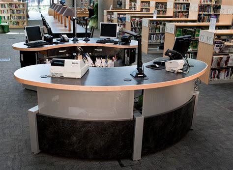 technolink modular service desk demco interiors
