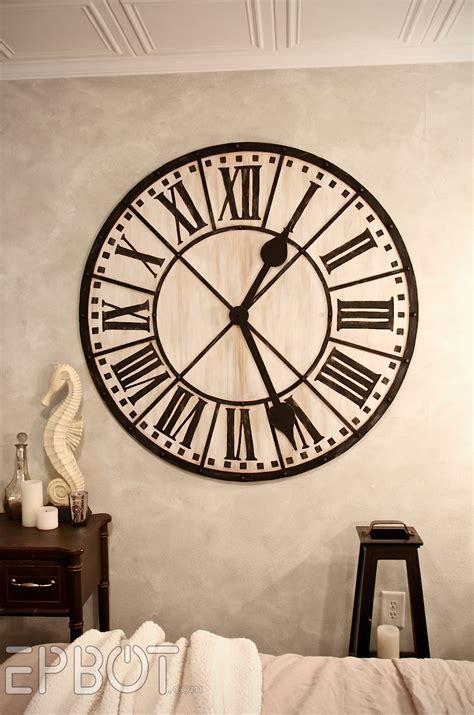 horloge cuisine vintage epbot diy tower wall clock