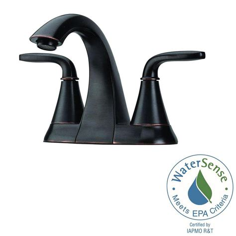 pfister pasadena 4 in centerset 2 handle bathroom faucet