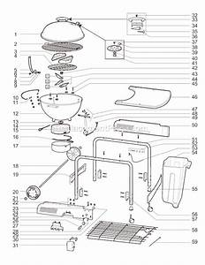 Weber 841004 Parts List And Diagram