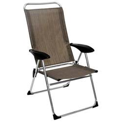 lightweight adjustable folding arm chair direcsource ltd