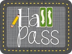 Student Bathroom Pass Ideas by Krazee 4 Kindergarten Hall Pass Linky