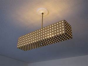 Diy ceiling light idea from etsy to make