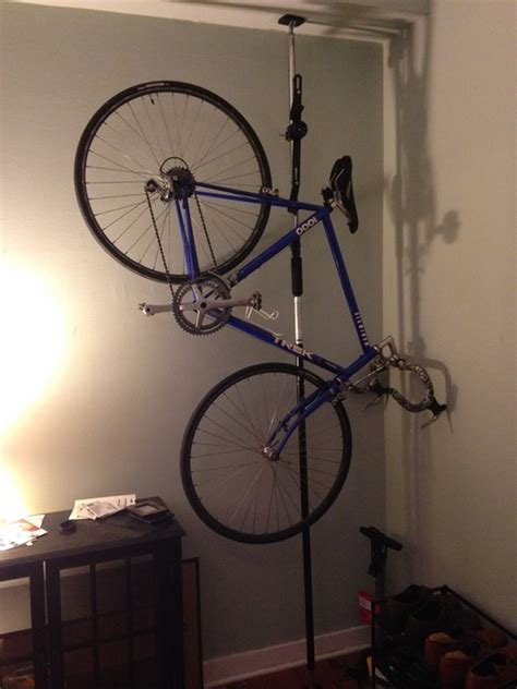 Apartment Bike Rack Solutions by Bike Storage Rack For Apartment Pressure Mount