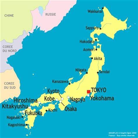 Nouvelle Carte Du Monde Japonais by Kyoto Carte Du Japon Arts Et Voyages
