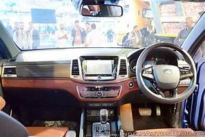Mahindra Rexton / XUV700 Showcased at the Auto Expo 2018 ...