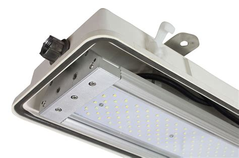 new integrated corrosion resistant led light fixture