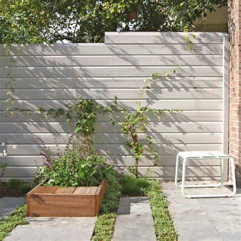 Sichtschutz Garten Holz Weiß by Sichtschutzzaun Aus Holz Holzarten Und Materialien