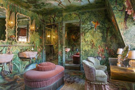 annabels  london reveals  bathrooms  designer martin brudnizki london evening standard