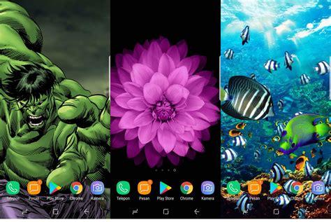 mengubah layar android menjadi keren hidup