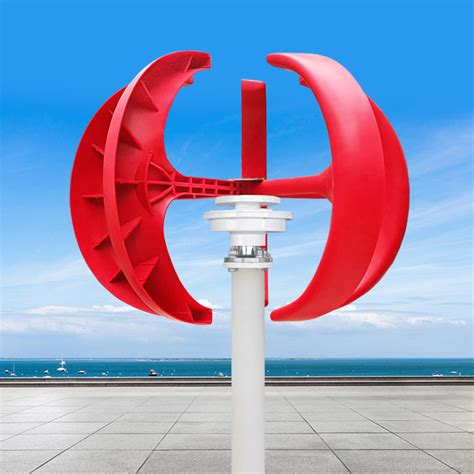 vawt lantern type  blades vertical axis wind turbine generator