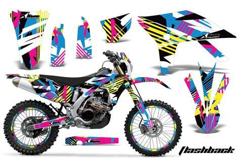 graphics for motocross bikes yamaha motocross graphic sticker kit 2012 2015 yamaha mx