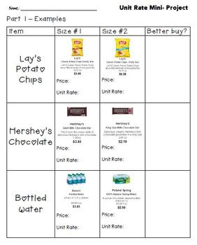Comparing Unit Rates And Math Worksheets Comparing Best Free Printable Worksheets