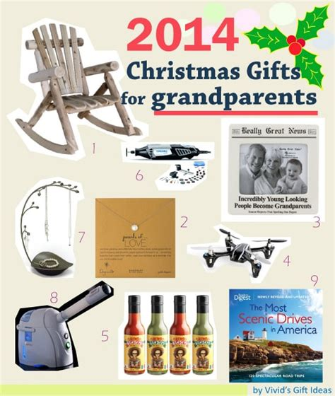 list of christmas present for grandparents vivid s