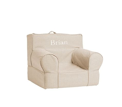 my anywhere chair slipcover only my anywhere chair slipcover only khaki gingham
