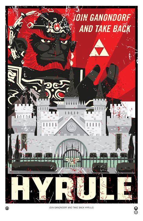 Link Etsy Legend Of Zelda Propaganda Hyrule Prints Ocarina