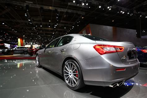 Maserati Brings Updated My2017 Ghibli To Paris Auto Show