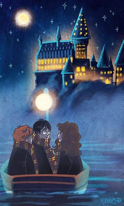 Potter Harry Hogwarts Pantalla Fondos Enerjax Trio