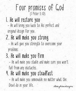 Four Promises o... Jesus Promise Quotes