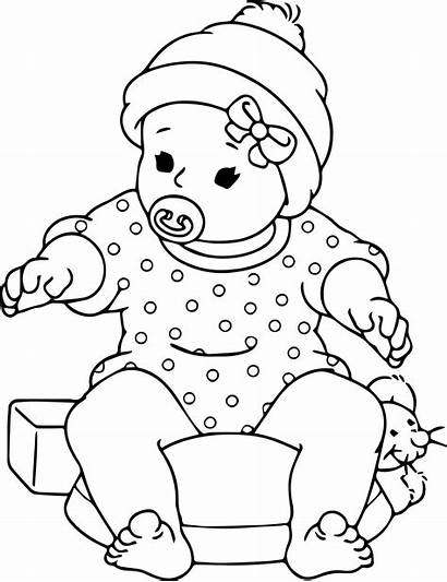 Coloring Pages Printable Doll Sheets Boy Paper