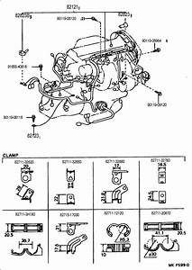 Toyota Mr2 Clamp  Wiring Harnes