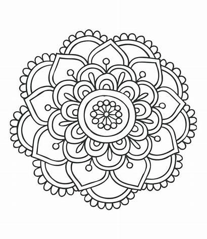 Mandala Pdf Drawing Coloring Pages Advanced Getdrawings