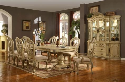 Antique White Dining Room Table by Front Door Fall Decorating Ideas Antique White Kitchen