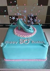 Cinderella Slipper Birthday Cake - CakeCentral com
