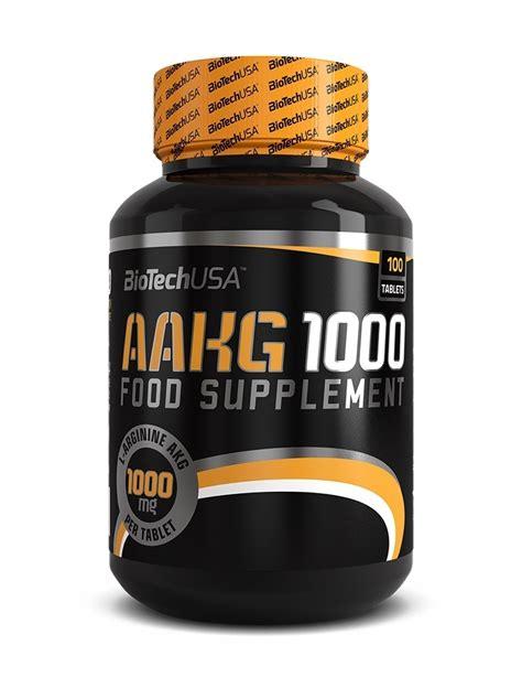 BioTech USA AAKG 1000, 100 Tabletten , Aminosäure , L