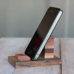 cell phone stands diy wooden cell phone stand alyssa and carla