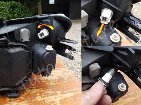 changer une douille de le optique avant et oule comment les changer pour votre peugeot 206 tuto voiture