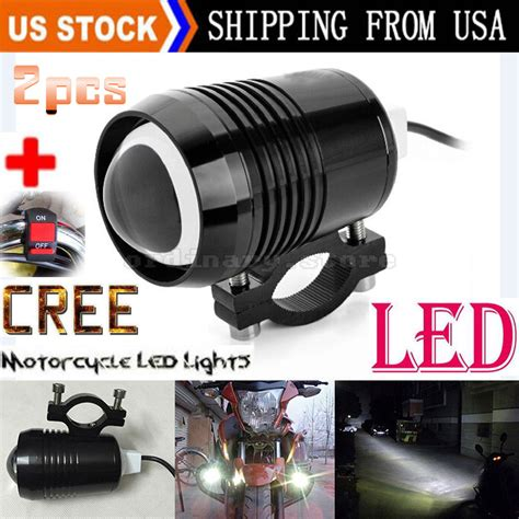 Motorcycle Led Driving Lights by 2pcs Bright 30w Motorcycle Cree U2 Led Driving Headlight