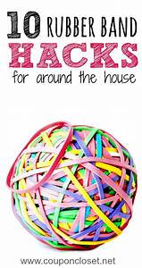 10 Rubber Band Hacks You Never Thought Of - One Crazy Mom