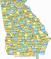 Paulie Georgia Map