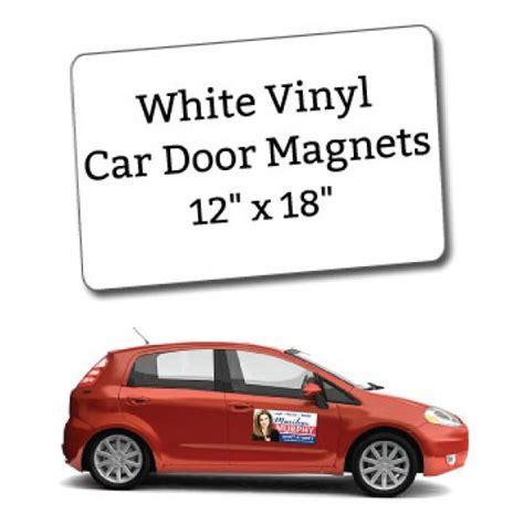 car door magnets white vinyl car door magnets 12 quot x 18 quot custom magnets