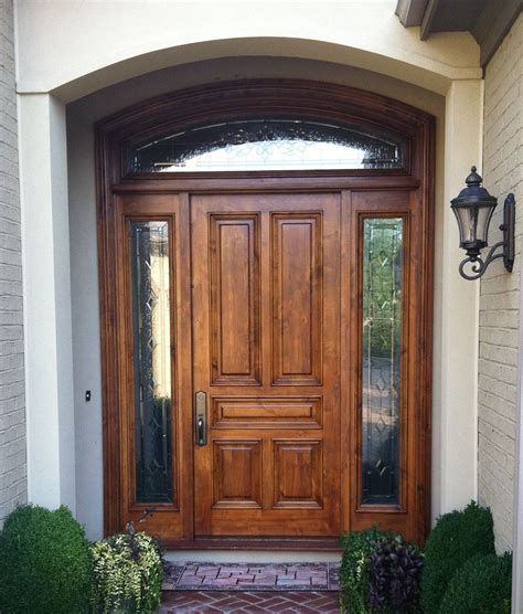 Glass Entry Doors For Home by Wooden Front Doors With Glass Are The Important Thing You