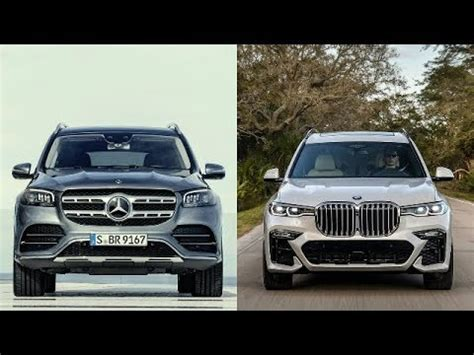 We compare exterior and interior dimensions, cargo volume, engines welcome to the video comparison between german suv giants, mercedes gls vs bmw x7. 2020 MERCEDES GLS VS BMW X7 - YouTube