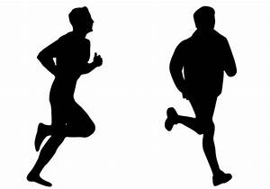 runners vector   Home > Blog > Sports Vector Silhouette ...