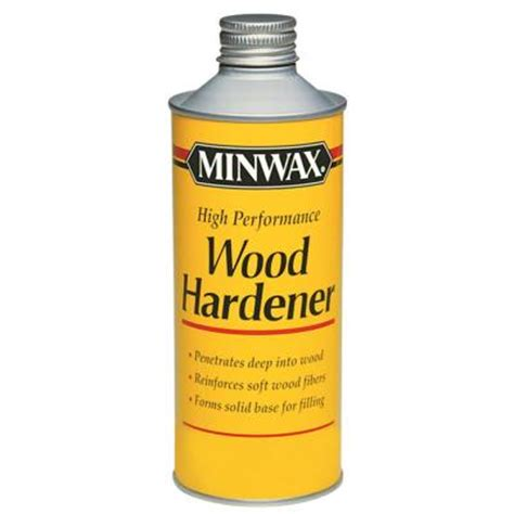 minwax floor cleaner home depot minwax 1 pt high performance wood hardener 6 pack 41700