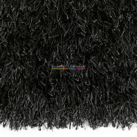 location tapis noir 224 poils longs