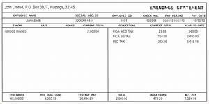 7 free check stub template printables timeline template With free paystub template online