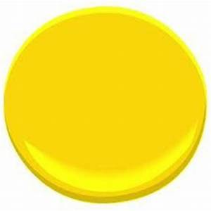 Bright yellow Wow Benjamin Moore Sun Porch 2023 30