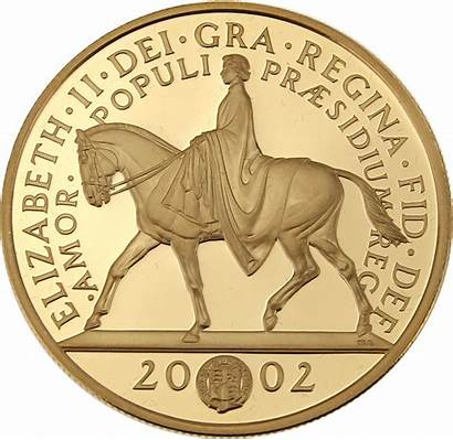 Jubilee Golden 2002 Proof Coin Owned Pre
