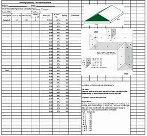 Job Application Spreadsheet Roofing Estimate Sheet How To Estimate Roofing Cost