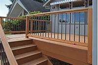 nice aluminum deck railing Nice Composite Deck Railings : Doherty House - Awesome ...