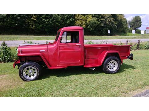 willys jeep pickup  sale classiccarscom cc