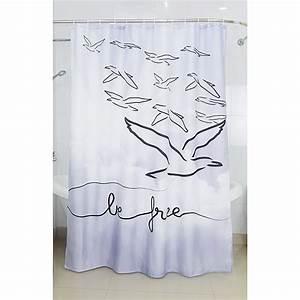 Duschvorhang Schwarz Weiß : venus textil duschvorhang be free 180 x 200 cm schwarz wei bauhaus ~ Yasmunasinghe.com Haus und Dekorationen